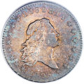 Early Half Dollars, 1795 50C 2 Leaves, O-125, High R.4, AU55 PCGS....