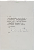 Music Memorabilia:Documents, Beatles - Paul McCartney Signed Letter to a Former Apple Employee on Apple Stationery....