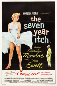 """The Seven Year Itch (20th Century Fox, 1955). British Double Crown (20"""" X 30"""")"""