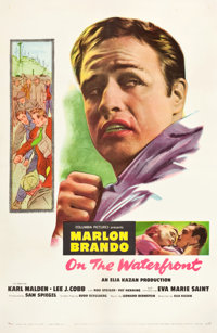 """On the Waterfront (Columbia, 1954). One Sheet (27"""" X 41.25"""")"""
