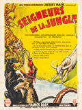 "Movie Posters:Adventure, Fang and Claw (RKO, 1935). French Grande (47.25"" X 63"").Adventure.. ..."