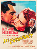 "Movie Posters:Hitchcock, Notorious (MGM, R-1958). French Grande (45.5"" X 61""). Hitchcock....."