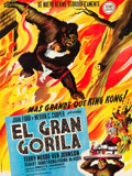 """Movie Posters:Horror, Mighty Joe Young (RKO, 1949). Full-Bleed Spanish Poster (40"""" X 53"""").. ..."""
