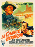 "Movie Posters:Western, She Wore a Yellow Ribbon (RKO, 1949). French Grande (45.5"" X 60.75"").. ..."