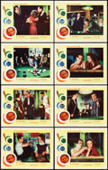 "Movie Posters:Drama, The Hustler (20th Century Fox, R-1964). Lobby Card Set of 8 (11"" X14"").. ... (Total: 8 Items)"