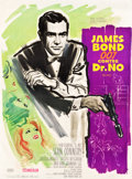 "Movie Posters:James Bond, Dr. No (United Artists, 1962). French Grande (46.5"" X 63"") PurpleStyle.. ..."