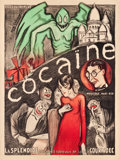 "Movie Posters:Exploitation, Cocaine Theatre Poster (c.1925). French Grande (47"" X 63"").. ..."