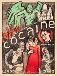 "Cocaine Theatre Poster (c.1925). French Grande (47"" X 63"")"