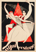 "Movie Posters:Miscellaneous, French Ballet Advertising Poster (c.1930). Poster (39"" X 54.5"")""Ninji et Stone."". ..."