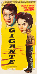 "Movie Posters:Drama, Giant (Izaro, 1959). Spanish Three Sheet (39.25"" X 78"").. ..."
