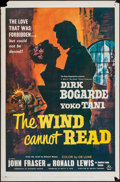"""Movie Posters:Romance, The Wind Cannot Read (20th Century Fox, 1960). One Sheet (27"""" X 41"""") & Three Sheet (41"""" X 78""""). Romance.. ... (Total: 2 Items)"""