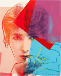 Prints:Contemporary, ANDY WARHOL (American, 1928-1987). Sarah Bernhardt (fromTen Portraits of Jews of the Twentieth Century), 1980.Scre...