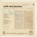Music Memorabilia:Autographs and Signed Items, Beatles Signed With The Beatles LP Sleeve, (Parlophone PMC 1206, 1963)....
