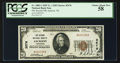 National Bank Notes:Tennessee, Jackson, TN - $20 1929 Ty. 1 The Second NB Ch. # 3576. ...