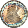 Proof Seated Half Dollars, 1862 50C PR67 NGC. WB-101....