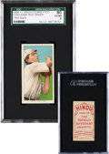 Baseball Cards:Singles (Pre-1930), 1909-11 T206 Hindu (Red) Home Run Baker SGC 80 EX/NM 6 - HighestSGC Example! ...