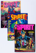 Magazines:Superhero, The Spirit Group (Warren/Krupp/Kitchen Sink, 1974-83) Condition:Average VF/NM.... (Total: 34 Comic Books)
