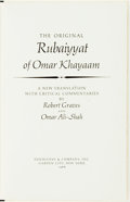 Books:Literature 1900-up, Robert Graves and Omar Ali-Shah, translators. SIGNED/LIMITED. The Original Rubaiyyat of Omar Khayaam. Doubleday, 196...
