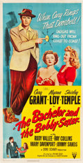 "Movie Posters:Comedy, The Bachelor and the Bobby Soxer (RKO, 1947). Three Sheet (41"" X80.5"").. ..."
