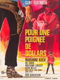 "Movie Posters:Western, A Fistful of Dollars (PEA, 1966). Full-Bleed French Grande (46"" X61"").. ..."