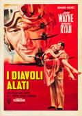 "Movie Posters:War, Flying Leathernecks (RKO, 1952). Italian 2 - Foglio (39.25"" X55"").. ..."
