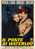 "Movie Posters:Romance, Waterloo Bridge (MGM, R-Late 1940s). Italian 2 - Foglio (39"" X55"").. ..."