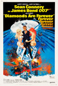 "Movie Posters:James Bond, Diamonds are Forever (United Artists, 1971). Poster (40"" X 60"")....."
