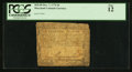 Colonial Notes:Maryland, Maryland December 7, 1775 $6 PCGS Fine 12.. ...