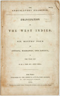 Books:Americana & American History, [Anti-Slavery]. James A. Thome and J. Horace Kimball. TheAnti-Slavery Examiner. No. 7. Emancipation in the WestIndies...
