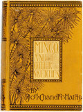 Books:Literature Pre-1900, Joel Chandler Harris. Mingo and Other Sketches in Black andWhite. Boston: James R. Osgood, 1884. First edition. Twe...