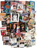Baseball Collectibles:Publications, 1940's-80's Sports Stars Signed Books Lot of 60....