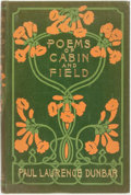 Books:Literature Pre-1900, [Slave Dialect]. Paul Laurence Dunbar. Poems of Cabin andField. [New York:] Dodd, Mead and Co., 1899. First edi...