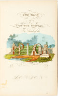 Books:Literature Pre-1900, [Thomas Rowlandson]. William Combe. The Tour of Doctor Syntax, in Search of the Picturesque, a Poem. New York: James...