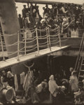 Photographs, ALFRED STIEGLITZ (American, 1864-1946). The Steerage, 1907. Photogravure on vellum, printed 1915. 12-5/8 x 10-1/4 inches...
