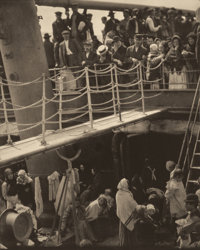 ALFRED STIEGLITZ (American, 1864-1946) The Steerage, 1907 Photogravure on vellum, printed 1915 12