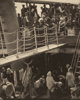 ALFRED STIEGLITZ (American, 1864-1946) The Steerage, 1907 Photogravure on vellum, printed 1915 12-5/8 x 10-1/4 inches
