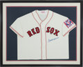 Baseball Collectibles:Uniforms, 1990's Ted Williams Signed Jersey. ...