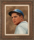 Baseball Collectibles:Others, 1969 Tom Seaver Original Artwork From Sporting News Cover....
