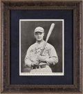 Autographs:Photos, Circa 1932 Lou Gehrig Signed Magazine Photograph....