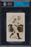Autographs:Photos, Late 1940's Babe Ruth Signed Photograph....