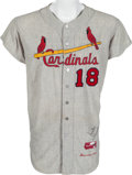 Baseball Collectibles:Uniforms, 1964 Mike Shannon Game Worn St. Louis Cardinals Jersey. ...