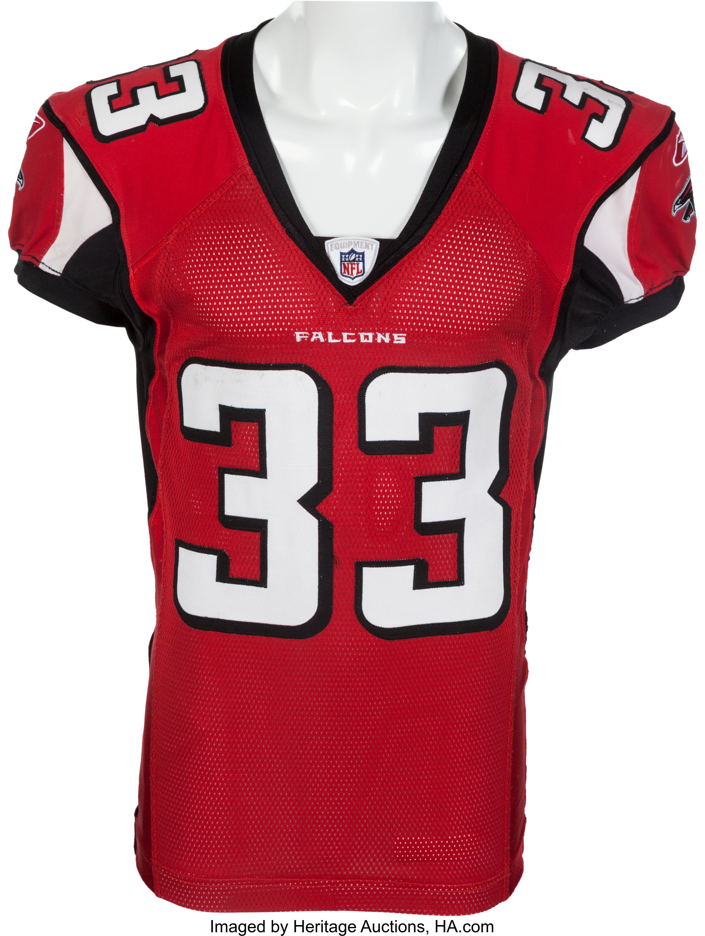 finest selection f3932 d8350 2007 Michael Turner Game Worn Atlanta Falcons Jersey - Multiple | Lot  #82274 | Heritage Auctions