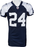 Football Collectibles:Uniforms, 2009 Marion Barber Game Worn Dallas Cowboys Throwback Jersey. ...