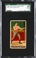 """Boxing Cards:General, 1888 N162 Goodwin """"Champions"""" Jack Dempsey SGC 50 VG/EX 4. ..."""
