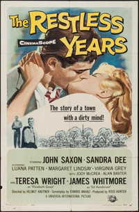 """The Restless Years & Other Lot (Universal International, 1958). One Sheets (2) (27"""" X 41""""). Drama..."""