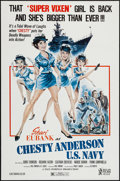 "Movie Posters:Sexploitation, Chesty Anderson, US Navy (Atlas, 1976). One Sheet (27"" X 41"").Sexploitation.. ..."