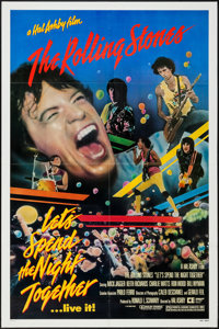 """Let's Spend the Night Together (Embassy, 1983). One Sheet (27"""" X 41""""). Rock and Roll"""