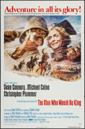 "Movie Posters:Adventure, The Man Who Would Be King (Columbia, 1975). One Sheet (27"" X 41"").Adventure.. ..."