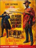 "Movie Posters:Western, For a Few Dollars More (United Artists, R-1978). French Grande (45.5"" X 61.5""). Western.. ..."
