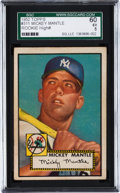 Baseball Cards:Singles (1950-1959), 1952 Topps Mickey Mantle #311 SGC 60 EX 5....
